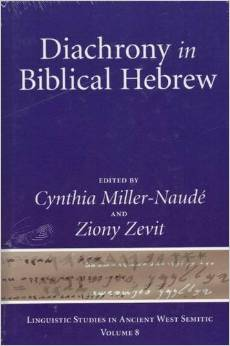 Diachrony in Biblical Hebrew book cover
