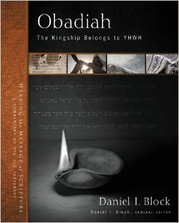 Obadiah: the Kingship Belongs to YHWH book cover