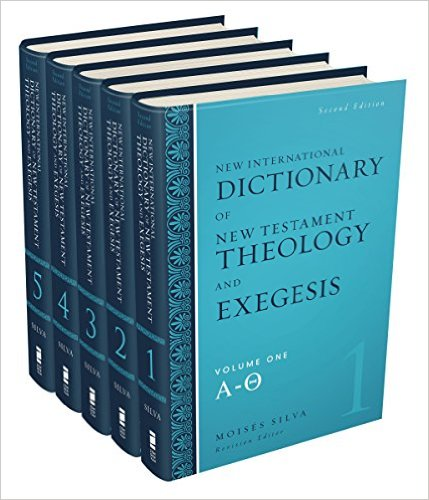 New International Dictionary of New Testament Theology and Exegesis book cover