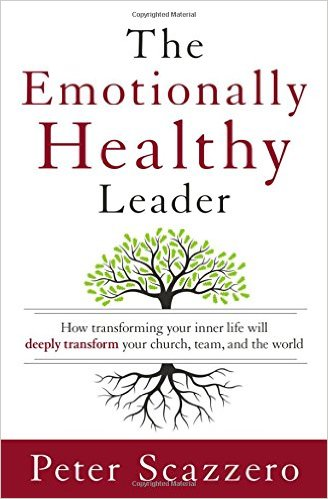 The Emotionally Healthy Leader book cover