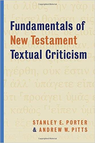 Fundamentals of New Testament Textual Criticism book cover