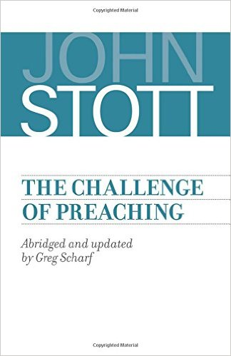 he Challenge of Preaching book cover