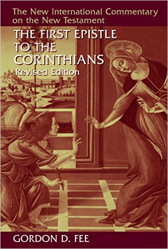 The First Epistle to the Corinthians, Rev. ed. book cover