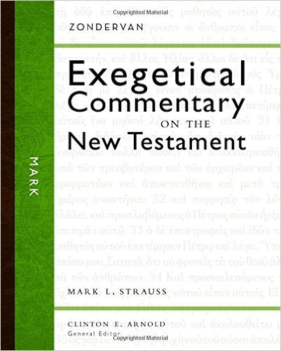 Mark: Zondervan Exegetical Commentary on the New Testament book cover