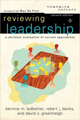 reviewing leadership book cover