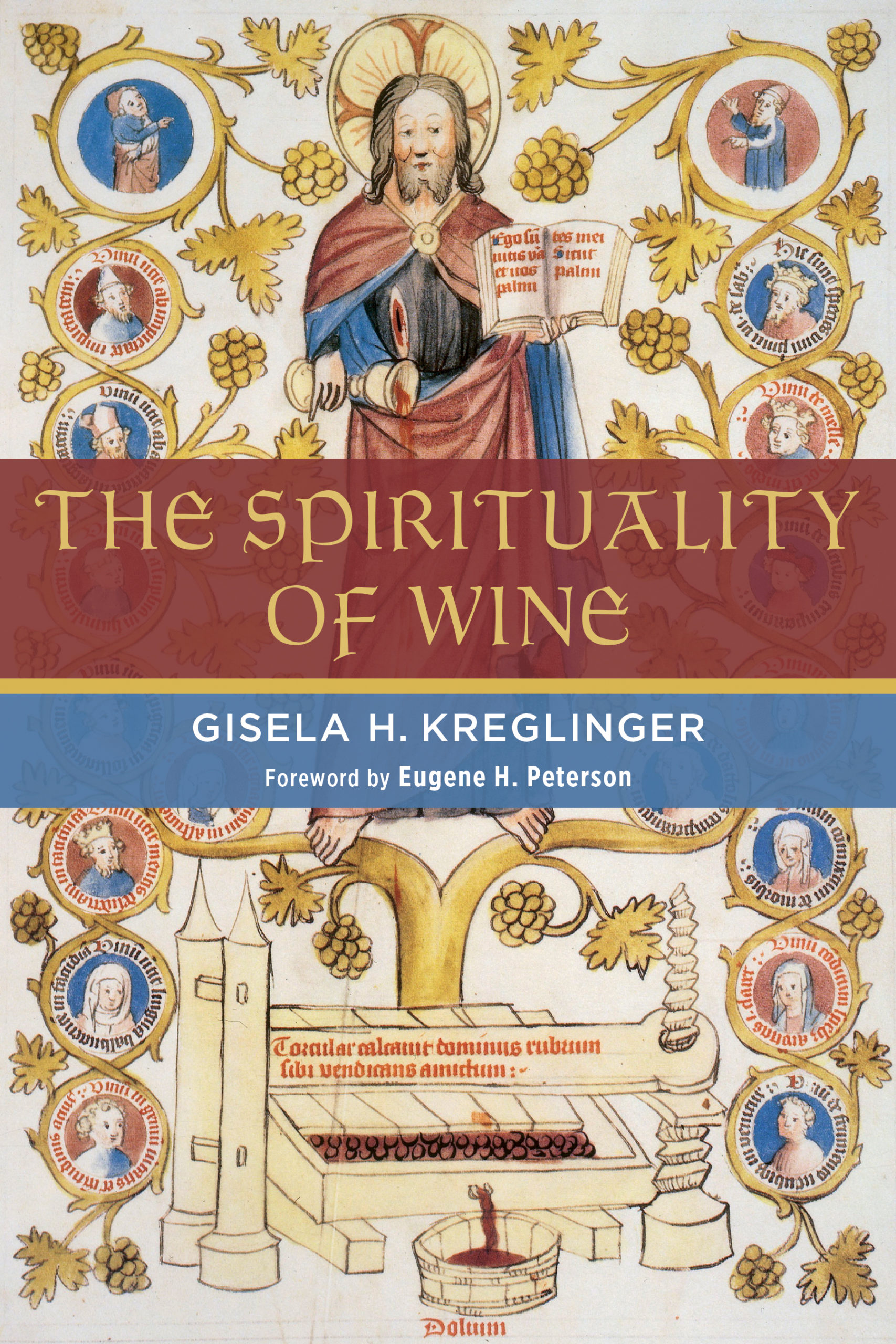 the spirituality of wine book cover