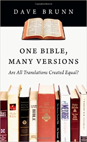 one bible, many versions book cover