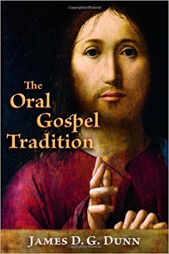 the oral gospel tradition book cover