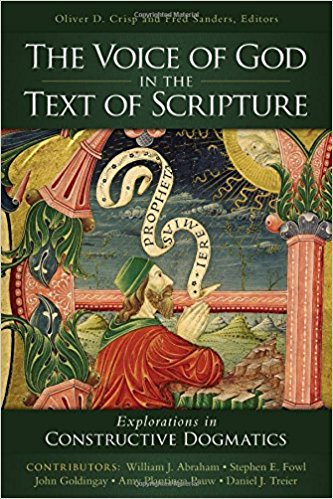 the voice of god in the text of scripture book cover