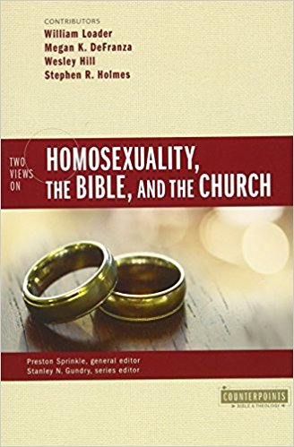 homosexuality, the bible, and the church book cover