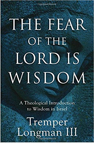 the fear of the lord is wisdom book cover