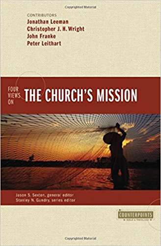 four views on the church's mission book cover