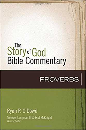the story of god bible commentary: proverbs book cover