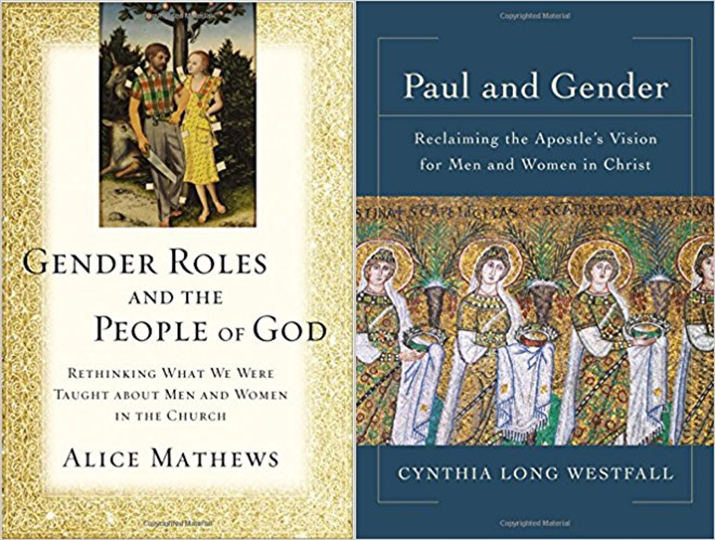 gender roles and the people of god/paul and gender book covers