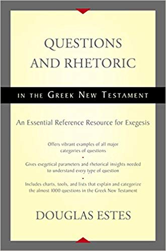 questions and rhetoric in the greek new testament book cover