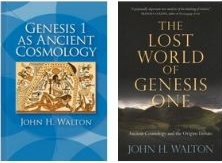 genesis 1 as ancient cosmology and the lost world of genesis one book covers