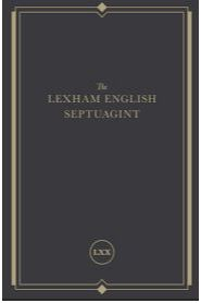 the lexham english septuagint book cover