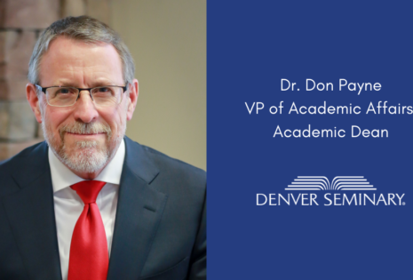 dr. don payne picture and job title