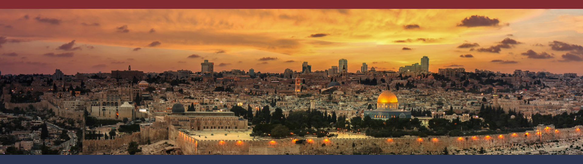 Picture of the Jerusalem, Israel skyline