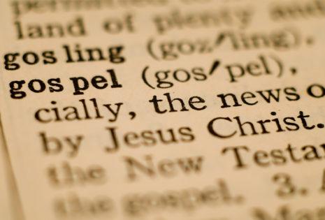 gospel definition in dictionary