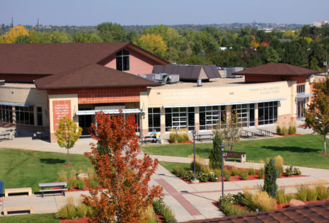 wide view of denver seminary student center