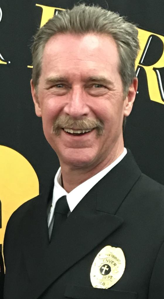 Headshot of Chaplain Ron Biegler